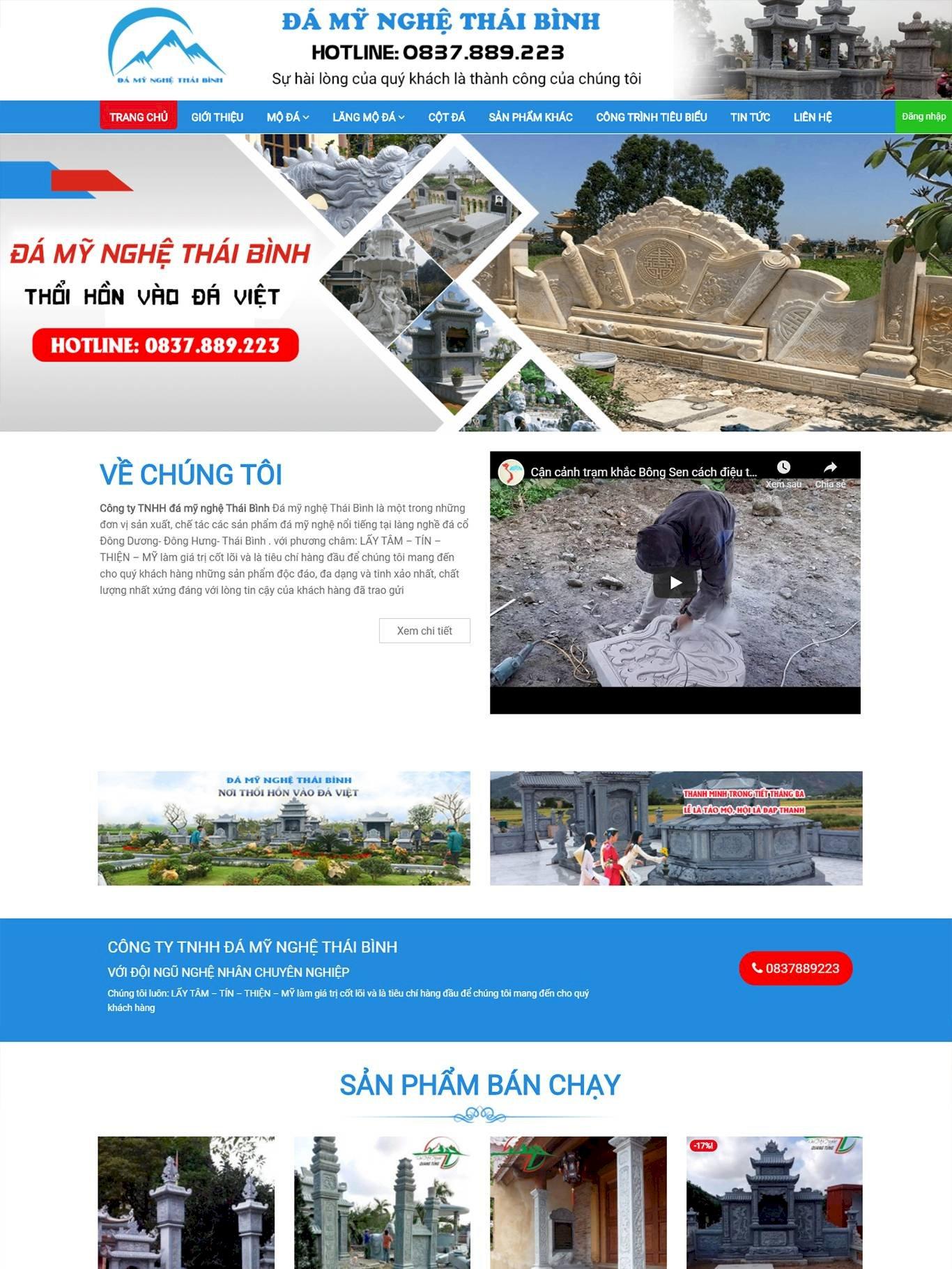 Đá mỹ nghệ Thái Bình