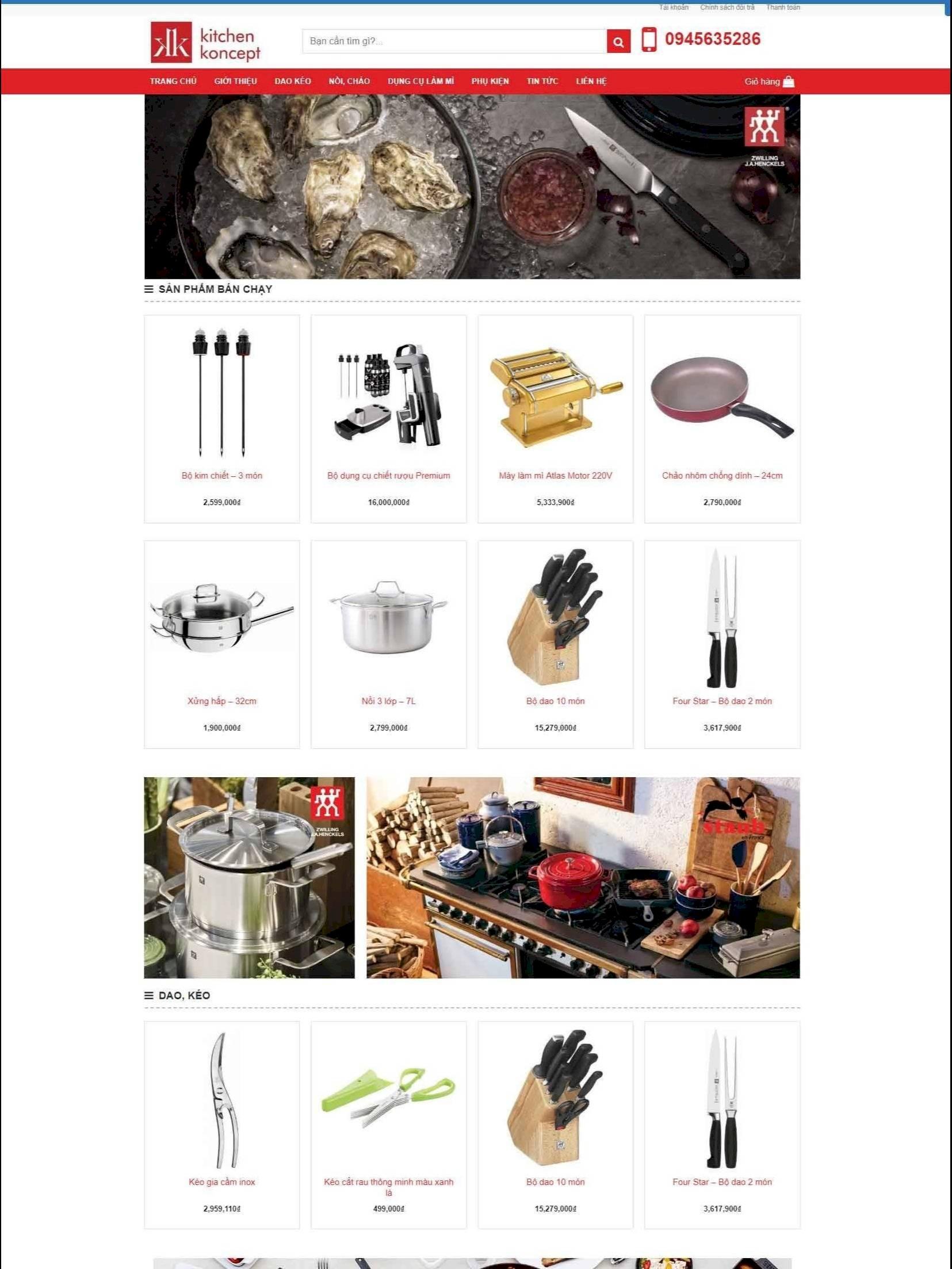 Đồ dùng nhà bếp Kitchen Art